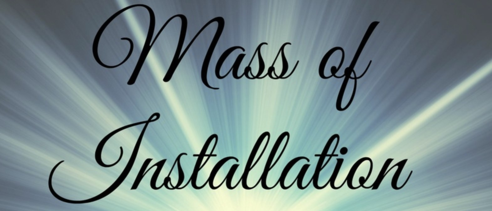 Pastor Installation Mass—Livestreaming on YouTube
