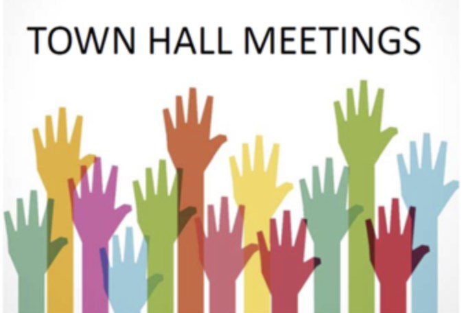 Town Hall Meetings - Thank you